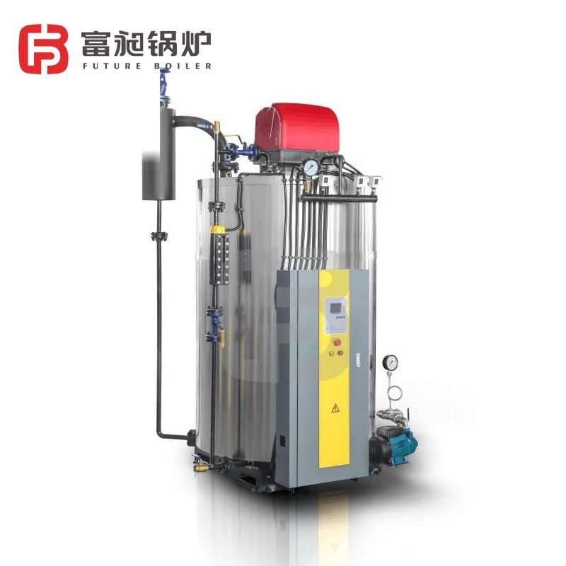 廠家直銷富昶鍋爐 立式電加熱生物質燃氣蒸汽鍋爐