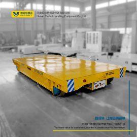 电动无轨平板车搬运不锈钢管无轨道平车机械设备搬运车