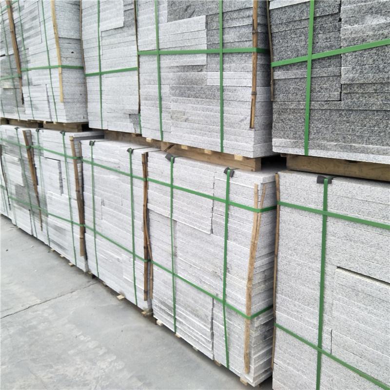 芙蓉白g603成品砖 g603小花道路砖 地面平板