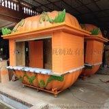 遊樂場南瓜造型創意售賣亭