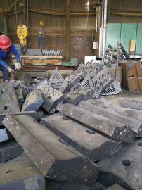 PF1008反击式破碎机耐磨板锤铸造厂家