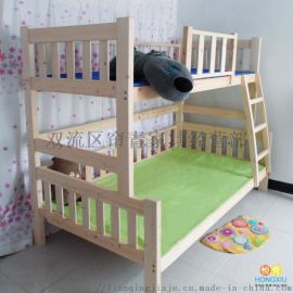 西安宿舍高低床四川实木公寓床价优