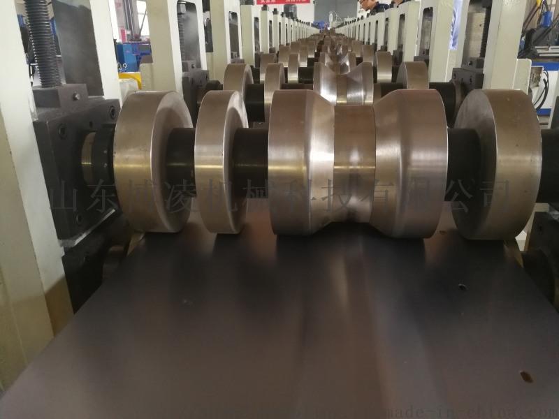 围栏系统立柱生产线 别墅围栏生产线设备