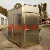 小型熏鸡炉生产厂家-熟食烧烤上色烘干烟熏炉图片