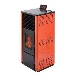 取暖炉厂家供应 新款智能取暖炉木屑颗粒采暖炉