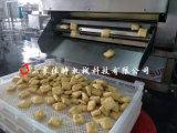 豆泡成套油炸流水線, 廣東電加熱豆泡油炸機