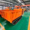 水电站橡胶式履带自卸车 农用4吨履带运输车