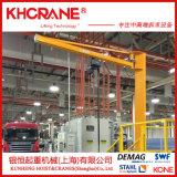 德马格立柱定柱式KBK旋臂吊手动悬臂起重机