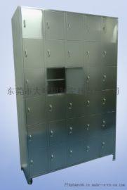 不锈钢学生储物柜-生产实验室18门不锈钢储物柜