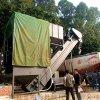 自动翻箱集装箱卸灰机 环保无尘粉料中转设备 拆箱机