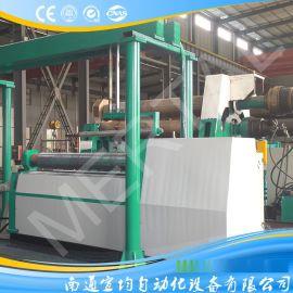 全自动卷圆生产线 卷板机生产线 高精度卷板机