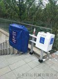 弯轨爬楼设备残疾人电梯启运郑州斜挂电梯厂家