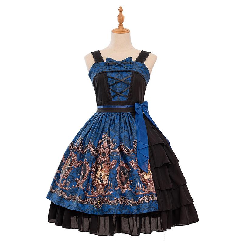 日系软妹Lolita洋装贴牌加工定制洛丽塔连衣裙