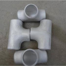 焊接熱壓鋁合金三通108*4滄州無縫三通生產廠家