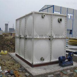 玻璃钢水箱1-1000立方保温水箱 组合拼装水箱
