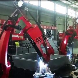山东焊接机械手 自动化三通焊接机器人