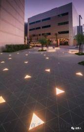 六边形发光LED地砖灯