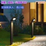 貴州景區民宿草坪燈及客棧草坪燈應用案例效果圖