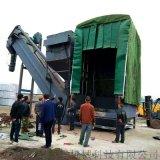 天津船运集装箱卸灰机 铁运粉煤灰无扬尘拆箱机