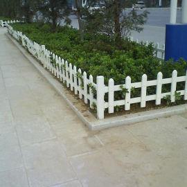 山东枣庄花坛草坪护栏 pvc围墙护栏生产厂家