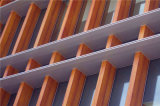 世纪城外墙格栅铝方通 沃尔玛外墙铝方通格栅