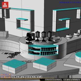 深圳自助餐台设计 自助餐功能餐台平面布局 冷热餐台