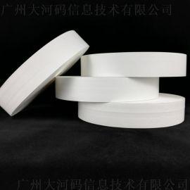水洗唛可条码打印热熔胶 胶带 尼龙带