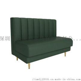 餐厅卡座沙发定制,皮革软包沙发,訂製沙发梳化厂家