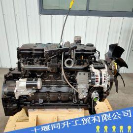康明斯QSB6.7电喷发动机总成 康明斯6D107
