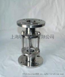 碳钢SS304玻璃管视镜 上海毓翔SG玻璃管视镜 视镜玻璃管视镜