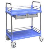 SKR004B 钢塑多功能推车 病人推车