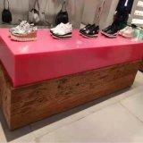 矽膠鞋櫃訂製 紅色無氣味矽膠鞋櫃材料