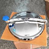 不鏽鋼方形人孔配件 圓形人孔蓋放料口流體設備配件