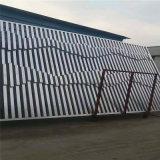 便利店外牆格柵鋁方條 不規則木紋造型外牆鋁格柵方管