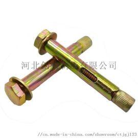 国标镀锌地板膨胀 六角套管壁虎 栏杆专用内膨胀螺
