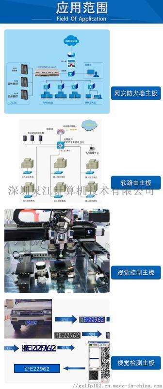 PCM3-3865U  6网口主板 英特尔千兆网卡