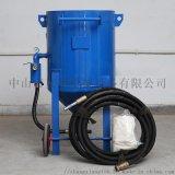 移动喷砂机厂家,大型工件表面处理手动喷砂机
