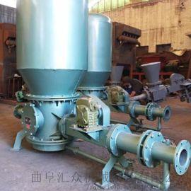 复合软管吸灰机 低压气力连续输送泵 六九重工 气力