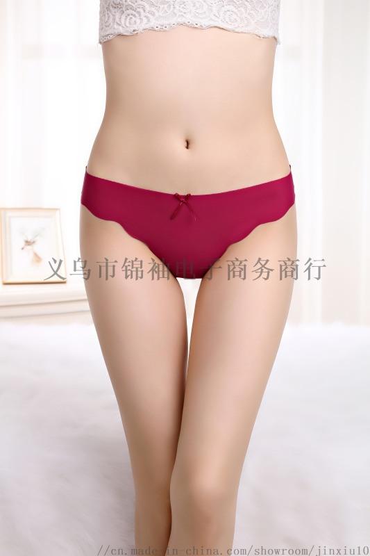 冰絲無痕女士丁字內褲 一片式性感內衣現貨廠家直銷