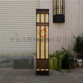 新款不鏽鋼仿雲石壁燈戶外防水掛牆燈別墅門前外牆燈
