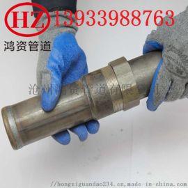 现货批发 厂家直销 各规格 可定做 钳压式 套筒式 螺旋式声测管
