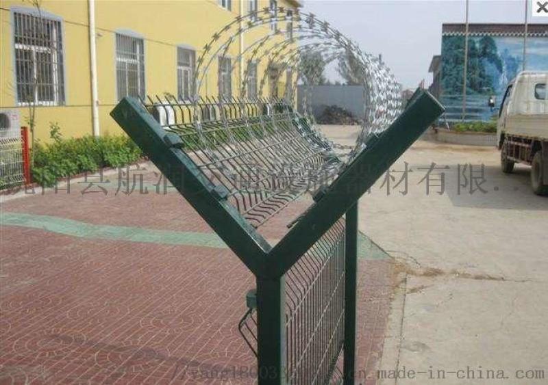 监狱护栏网   Y型柱护栏网  刺绳护栏