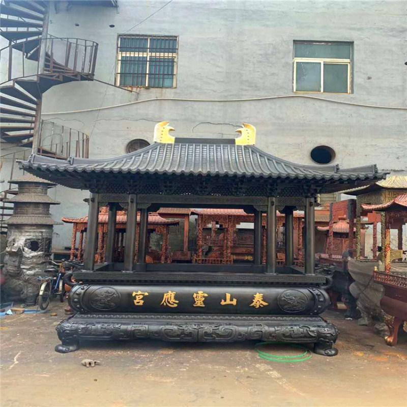 长方形铸铁香炉 温州长方形香炉  长方形香炉厂家