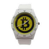 外貿貨源廠家定製新款時尚個性大錶盤矽膠石英手錶