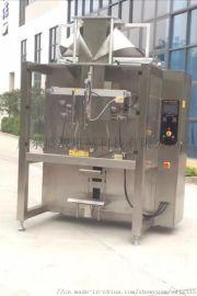盛威机械、膨化食品液体翻领立式包装机