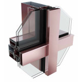 全隐框中构成半隐、明框中空玻璃幕墙