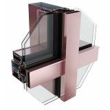 全隱框中構成半隱、明框中空玻璃幕牆