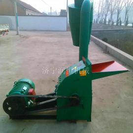 多功能420锤片粉碎机 养殖饲料秸秆粉碎机