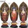 西方三聖佛像廠家 佛教三位菩薩 寺廟  菩薩佛像