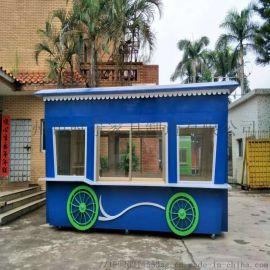 售卖亭 游乐场创意特色主题小吃售卖亭